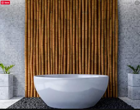 Bathroom renovation job done in Echuca with grey mosaic wall tiles